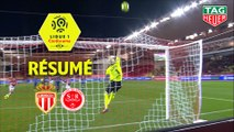 AS Monaco - Stade de Reims (1-1)  - Résumé - (ASM-REIMS) / 2019-20