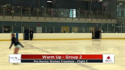 Pre-Novice Free Program - Flight C - Novice Women F2020 Calgary Winter Combined Invitational - Rockyview County Arena