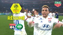 Olympique Lyonnais - AS Saint-Etienne (2-0)  - Résumé - (OL-ASSE) / 2019-20