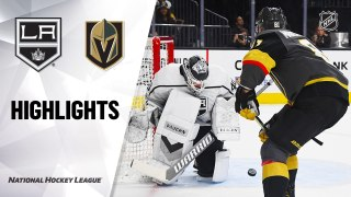 NHL Highlights | Kings @ Golden Knights 3/1/20
