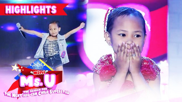 Princess Aquino emerges as Mini Miss U of the day | It's Showtime Mini Miss U