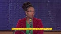 """Coronavirus Covid-19 : """"Dans les zones hors clusters, les élèves peuvent continuer à aller à l'école, y compris quand ils reviennent de l'étranger"""", rappelle Sibeth Ndiaye, porte-parole du gouvernement"""