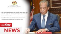 PMO: Muhyiddin meeting with department and agency heads only Monday (March 2)