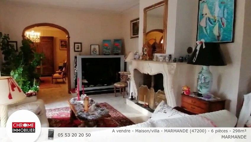 A vendre - Maison/villa - MARMANDE (47200) - 6 pièces - 298m²
