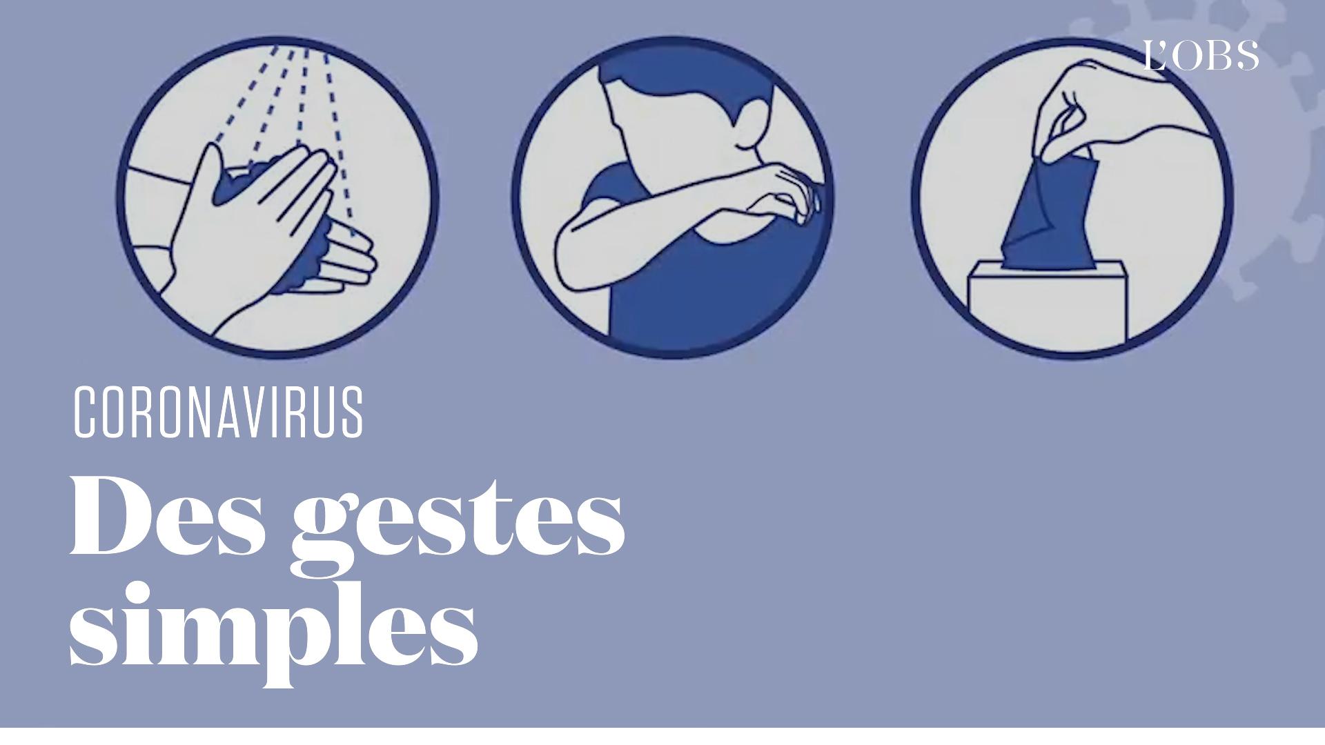 Comment se protéger du coronavirus ? Le clip de prévention du ministère de la Santé