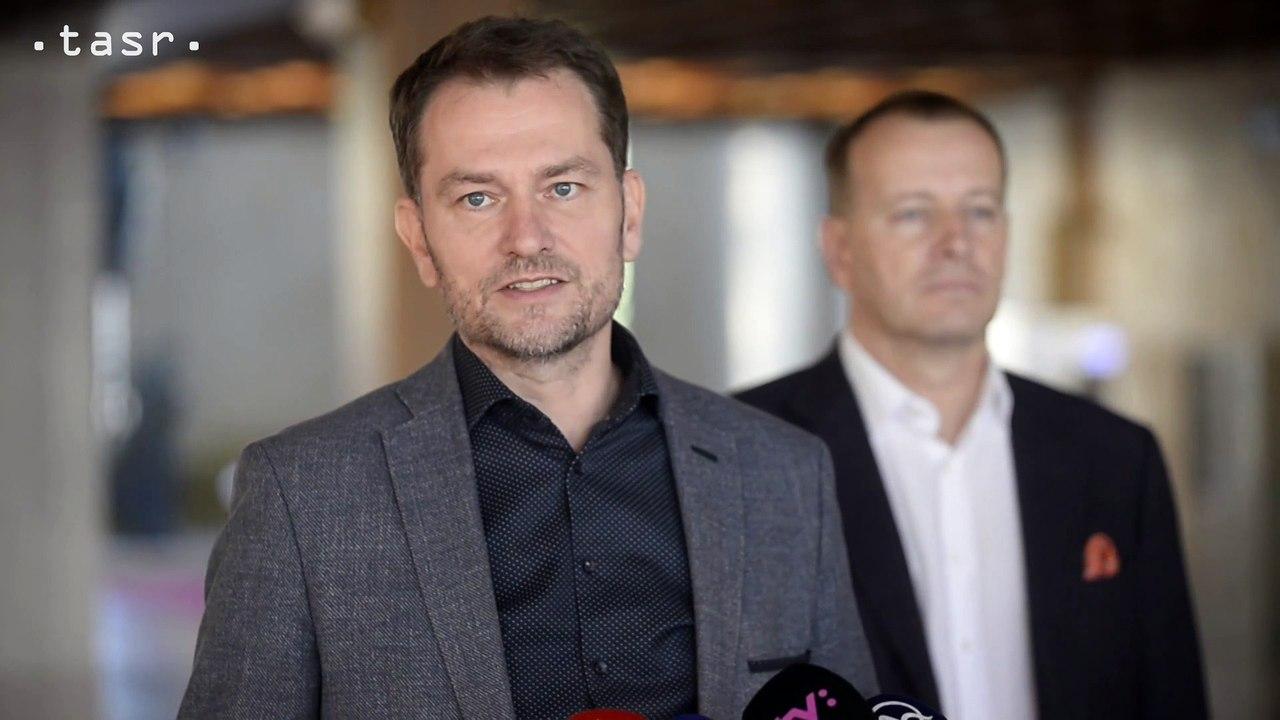 Igor Matovič po rokovaní s Borisom Kollárom: Chceme výrazné reformy k lepšiemu
