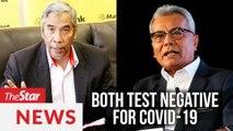 Politicians test negative for Covid-19, says Health DG