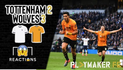Reactions | Tottenham 2-3 Wolves: Spurs' Champions League hopes all but over?