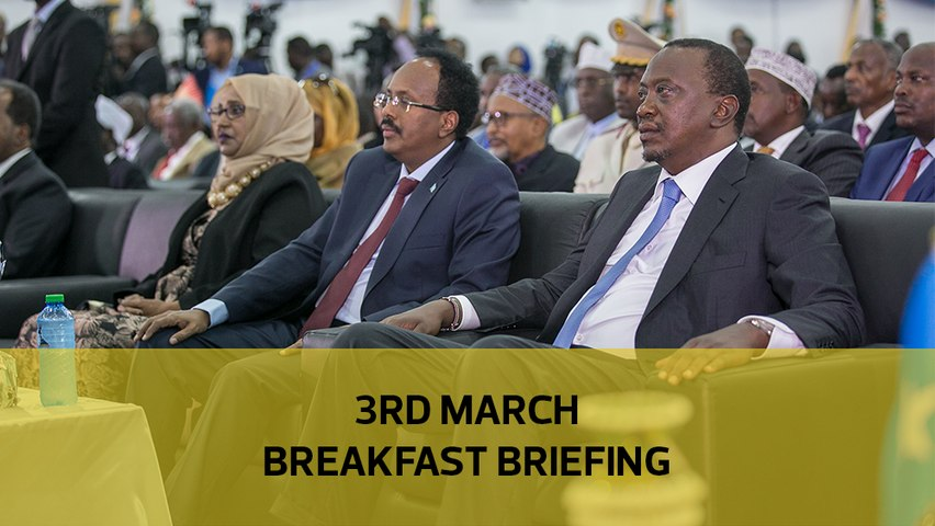 Inside Kenya's war with Somalia, How cop obtained Sh47m from camels, the fight in Central Kenya: Your breakfast briefing