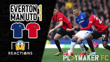 Reactions | Everton 1-1 Man Utd: Should United focus their efforts on the Europa League?