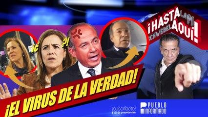 Calderón y Margarita se enfrentan a la gente y no saben reaccionar