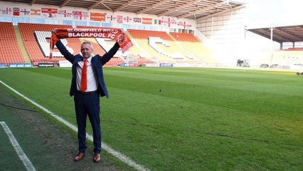 Blackpool chief executive Ben Mansford delighted to appoint Neil Critchley