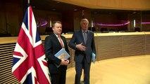 Post-Brexit trade negotiations begin in Brussels