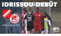 Mo Idrissou feiert Pflichtspiel-Debüt in Liga 6 | Rot-Weiß Darmstadt – Rot-Weiss Frankfurt (Verbandsliga)