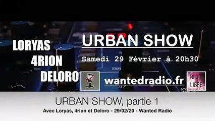 Urban Show avec Loryas, 4rion et Deloro - Partie 1