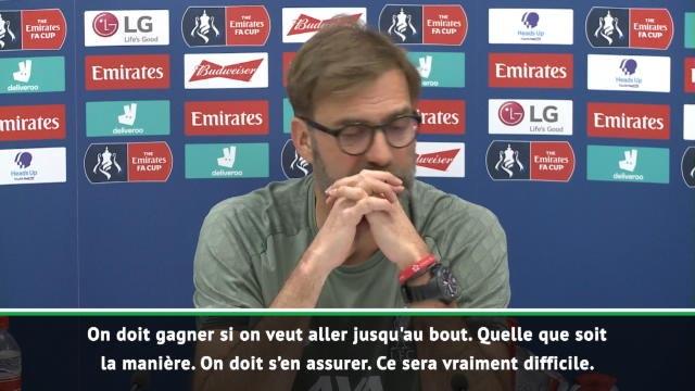 """FA Cup - Klopp : """"Lampard fait du super boulot"""""""