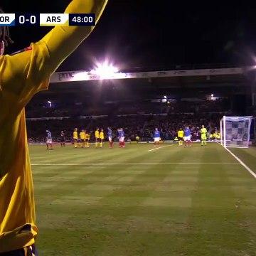 Portsmouth 0-2 Arsenal