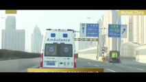 Coronavirus patients transferred to Huoshenshan Hospital P4