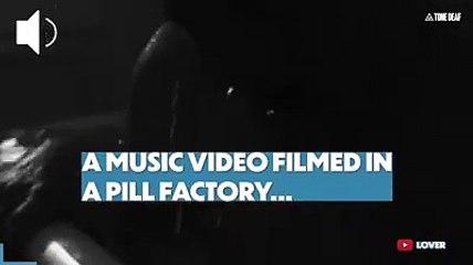 Ever seen a music video filmed in an old school pill factory?