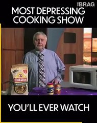 You can't look away from this cooking show!