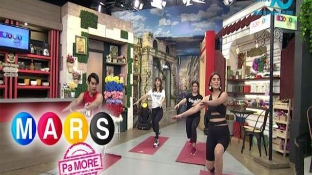 Mars Pa More: Move your body with Ashley Ortega's body weight exercise   Push Mo Mars