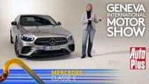A bord de la Mercedes Classe E restylée (2020)