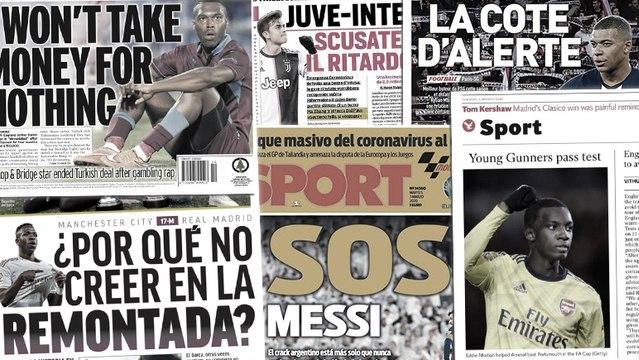 La presse madrilène rêve d'une remontada contre Manchester City, la jeunesse prend le pouvoir à Arsenal
