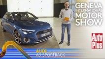 A bord de l'Audi A3 Sportback (2020)