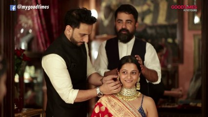 Sabyasachi handpicks exquisite pieces of heritage jewellery for Gauri Gokarn as she dresses like a quintessential Bengali bride!