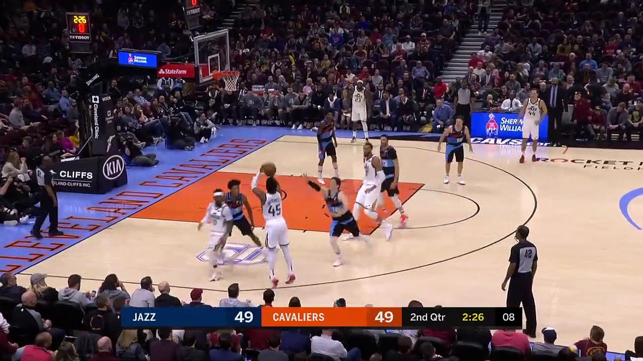 Utah Jazz 126 - 113 Cleveland Cavaliers