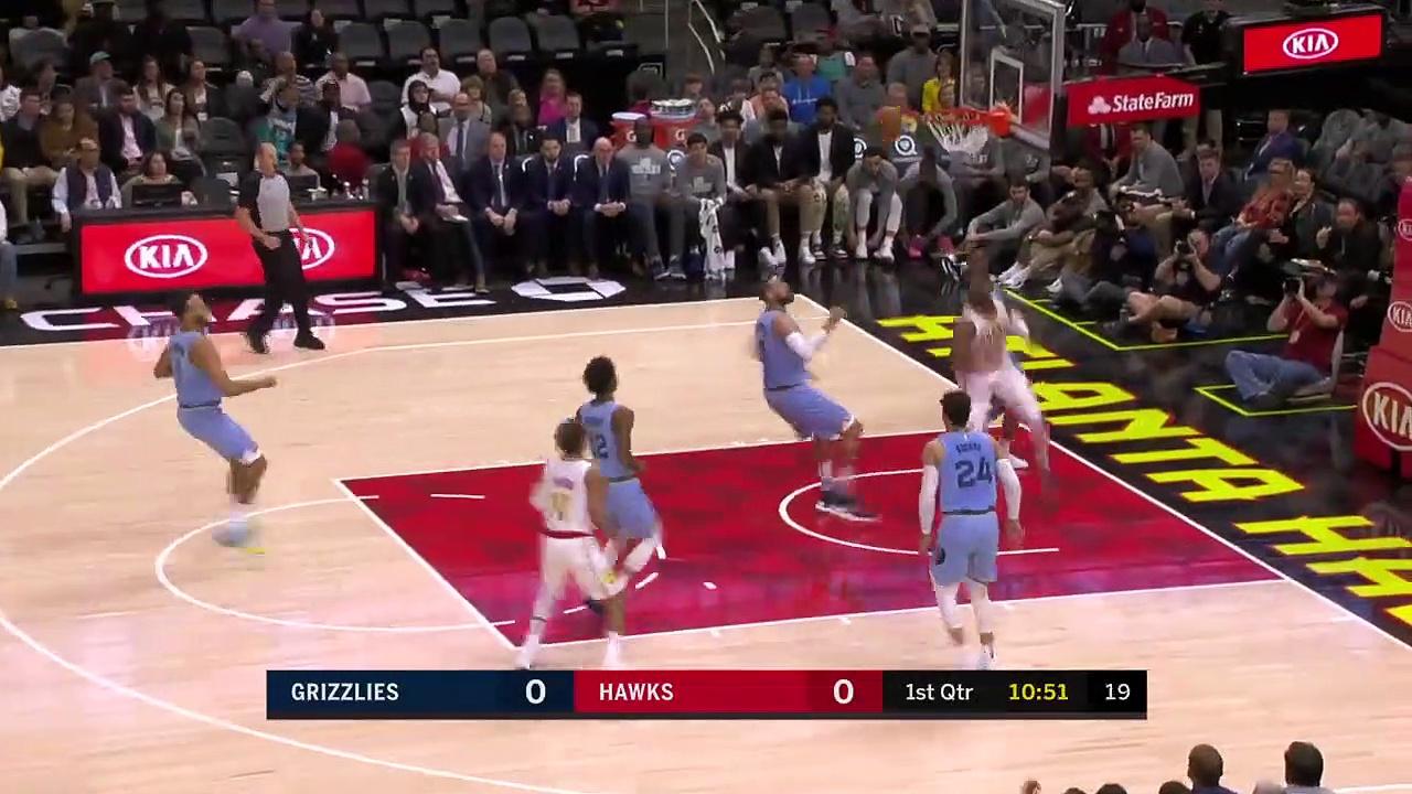 Memphis Grizzlies 127 - 88 Atlanta Hawks
