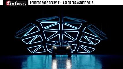 Peugeot 3008 restylé – Salon Francfort 2013 | Infos.fr