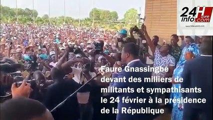 Togo : Faure Gnassingbé réélu pour un nouveau mandat de cinq ans