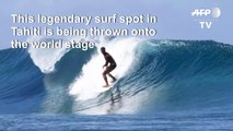 Surfing: Teahupoo, the village riding Tahiti's Olympic wave