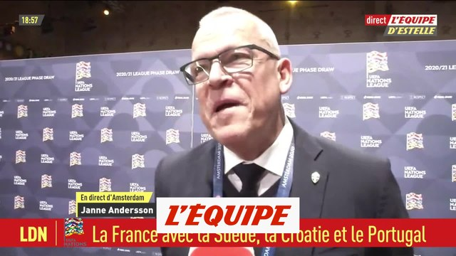 J. Andersson «On a toutes nos chances» - Foot - L. Nations - SUE