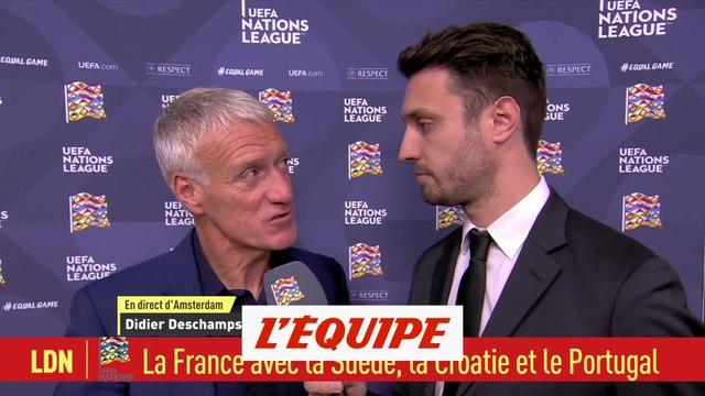 Deschamps «Une bonne chose pour Giroud» - Foot - Bleus