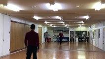 社交ダンスインストラクターが太極拳24式をワルツで踊ってみた(5つ目まで)