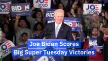 Joe Biden Scores Big Super Tuesday Victories