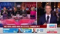 Super Tuesday cette nuit aux USA : Joe Biden a effectué un spectaculaire retour en force même si son rival Bernie Sanders a résisté - Michael Bloomberg grand perdant
