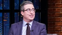 John Oliver Fought the Urge to Panic About Coronavirus Appearing in New York City