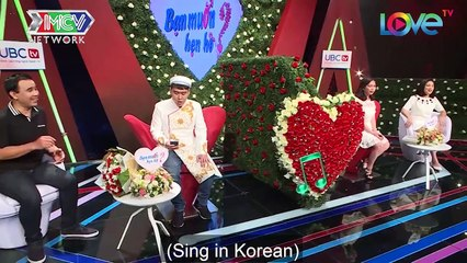 Korean guy comes to dating show to find Vietnamese wife