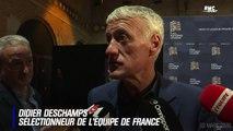 """Pas de Mbappé aux JO : """"Le PSG est dans son droit"""" confirme Deschamps"""