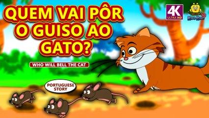 QUEM VAI PÔR O GUISO AO GATO? | Histórias morais para crianças | Contos de Fadas | Koo Koo TV