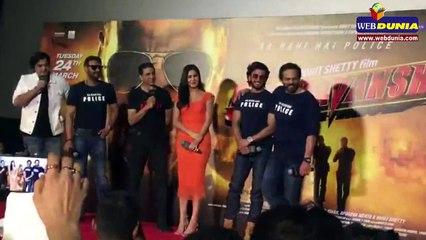 Team Sooryavanshi had fun in Trailer Launch