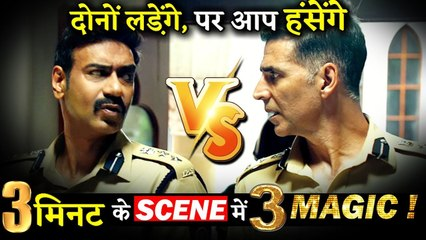 Akshay Kumar And Ajay Devgn's Funny Tussle In Sooryavanshi Will be The Highlight Of The Film!!