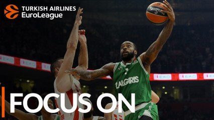 K.C. Rivers, Zalgiris: 'Fit yourself into the mix'