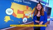 """États-Unis : un """"Super Tuesday"""" décisif pour les candidats démocrates à la présidentielle"""