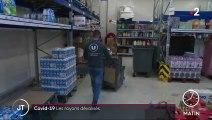 Covid-19 : ruée sur les drive des supermarchés