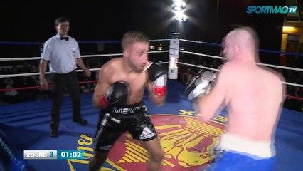 Gala de boxe de Cabourg : Mevy Boufoudi vs Siarhei Afonin