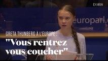 """Greta Thunberg face à l'Europe : 8 minutes d'un discours tonitruant contre le """"Green deal"""""""